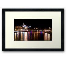 Goodnight Inverness Framed Print