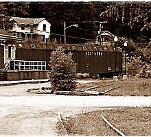 The Railroad Dont Run No More by Paul Lubaczewski