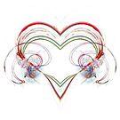 Stylized Heart by Benedikt Amrhein