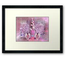 Pastel Christmas Framed Print