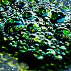 Green Bubbles by Eleanor Godley