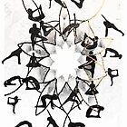 Yoga Graphic Design  by Adam Adami