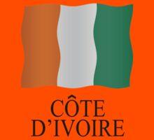 Ivory Coast flag Kids Clothes