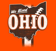 We Bleed Ohio - Logo Browns by WeBleedOhio
