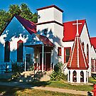 The Hinsdale, Montana, United Methodist Church by Bryan D. Spellman