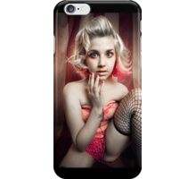 Laney in fishnets iPhone Case/Skin