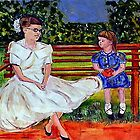 Sisters In The Park by hickerson
