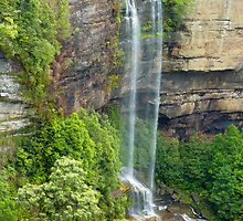 Katoomba Falls, Blue Mountains, NSW by PollyBrown