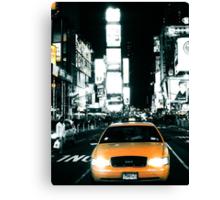 Yello Juicy Cab Canvas Print