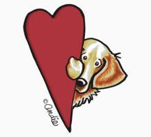 Love Golden Retrievers by offleashart