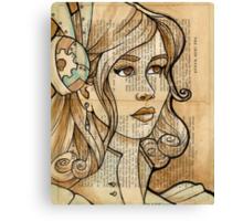 Iron Woman 2 Canvas Print