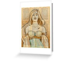 Iron Woman 8 Greeting Card