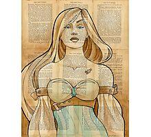 Iron Woman 8 Photographic Print