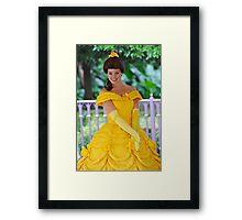 Belle at Hong Kong Disneyland. Framed Print