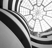The Guggenheim Museum (interior) New York by adarchphotog
