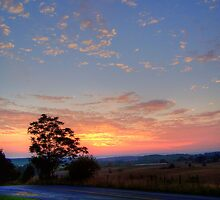Quiet Country Sunrise by James Brotherton