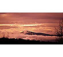 Mountains West Photographic Print