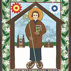 Bishop Frederic Baraga Icon by David Raber