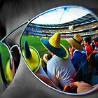 Cricket at the 'GABBA by Kate Wall