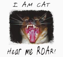 I AM CAT - Hear me Roar! by Megan Noble