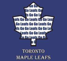 Go Leafs Go (Maple Leaf design) by marinasinger