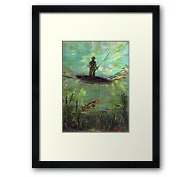 Fish Perspective  Framed Print