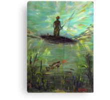 Fish Perspective  Canvas Print