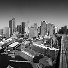 Sydney Harbour and City Panorama by Andrejs Jaudzems