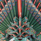 Changgyeong Palace Eaves Up Close, Seoul, Korea by Jane McDougall