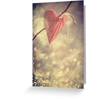 Waiting for Love Greeting Card