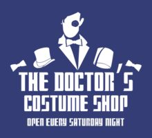 The Doctor's Costume Shop by KitsuneDesigns