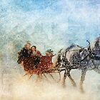 Dashing through the Snow by Elaine  Manley
