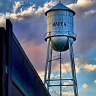 Marfa Water Tower iPhone Case by Warren Paul Harris