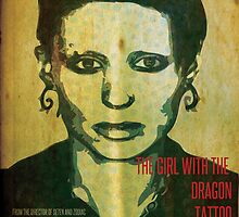 The Girl with the Dragon Tattoo Poster Design 01 by Ryan Williams