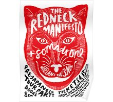 The Redneck Manifesto Pre Japanese Tour Party 2011 Poster