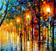 ON THE WAY TO THE MORNING - LEONID AFREMOV by Leonid  Afremov
