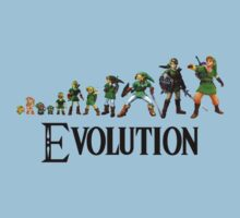 Zelda Evolution by SkinnyJoe