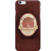 Ogden's Olde Time Firewhiskey iPhone Case/Skin