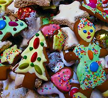 Home made Christmas cookies by Karin Zeller