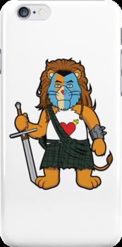 Brave Of Heart Lion by DevilChimp