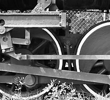 Train Wheel by joevoz