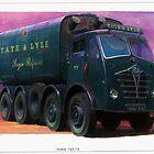 Foden FG tanker Tate & Lyle. by Mike Jeffries