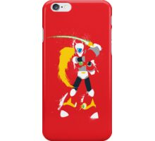 Splattery Maverick Hunter Zero  iPhone Case/Skin