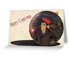 Doctor Who Christmas Greeting Card