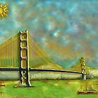 Golden Gate  by Johnkinman