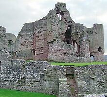 Rhuddlan Castle North Wales UK by AnnDixon