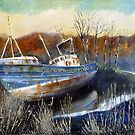 Venus, an Abandoned Trawler by Sue Nichol