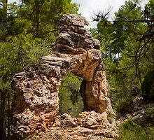 Barranco del Arco, Sierra de Gudar, Aragon, Spain by Andrew Jones