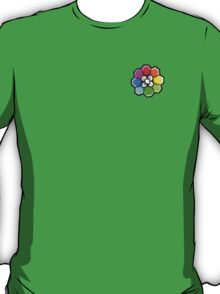Rainbow Badge (Pokemon Gym Badge) T-Shirt
