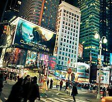 ''Bright City'' (Times Square) by Birgitta   †
